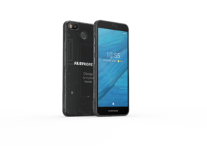 Fairphone 3 - schwarz transparent